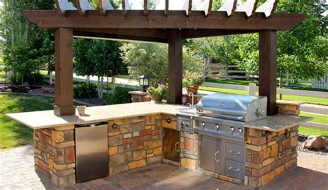 contemporary outdoor kitchen 25 brilliant ideas for outdoor kitchen designs build 2540