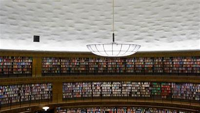 Library Bing Stockholm Stadsbiblioteket Books Sweden Form