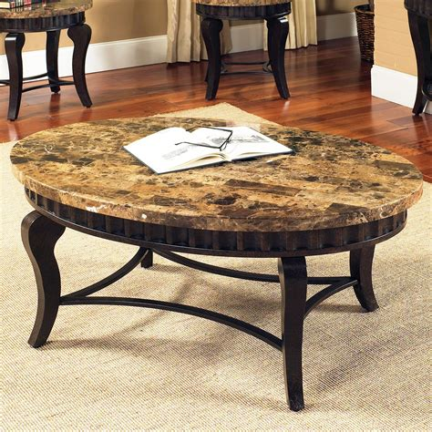 rectangle black granite coffee table counter top plus four