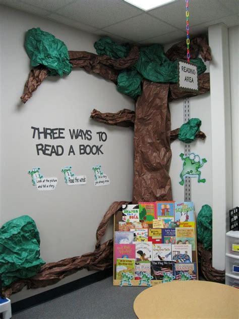 cute reading corner  kindergarten rocks classroom
