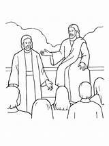 Premortal Christ Lds Heavenly Coloring Jesus Pages Father Primary Nursery Plan God Sharing Illustration Existence Children Bible Gospel Latter Story sketch template