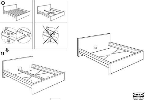 Ikea Bed Gebruiksaanwijzing by Handleiding Ikea Malm Bedframe Pagina 1 6 Dansk