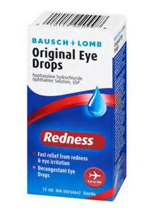 Redness and Eye Allergy Drops