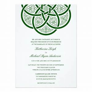 7 wedding invitations perfect for an irish wedding With traditional irish wedding invitations