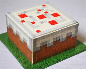 Minecraft Cake | Minecraft Cake Block 644 little squares ...