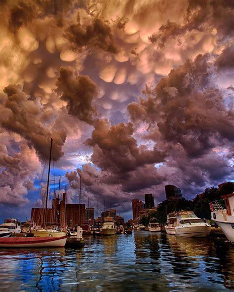 Mammatus clouds Argen Elezi   Mammatus clouds, Clouds ...