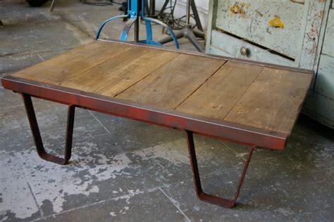table basse palette industrielle table basse palette industrielle vintage table basse