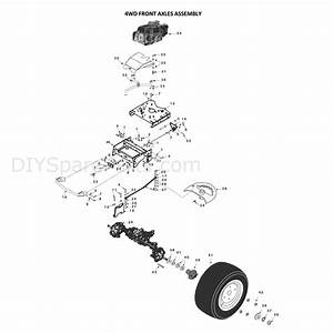 Countax C Series Honda Lawn Tractor 4wd 2006-2008  2006
