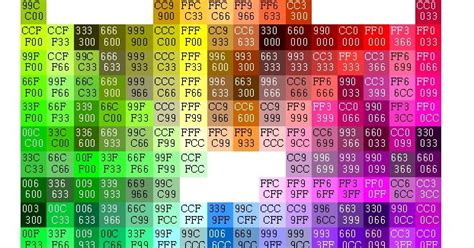 websharemotion  information html css color codes