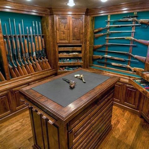 Top 100 Best Gun Room Designs ? Armories You?ll Want To