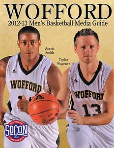 2012-13 Wofford Men's Basketball Media Guide by Wofford ...