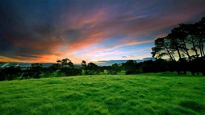 Nature Wallpapers Sky Landscape Background Grass Natural