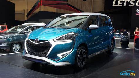 Toyota Sienta Modification by Jakarta 2017 Toyota Sienta Ezzy Special Bodykit For The
