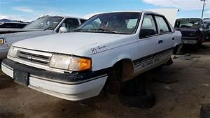 Junkyard Find  1989 Ford Tempo All Wheel Drive