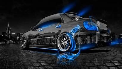 Subaru Wrx Sti Impreza Jdm Crystal Fire