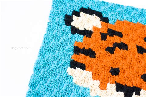 zoodiacs tiger cc crochet graph  dog woof
