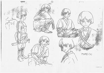 Mononoke Princess Spirited Away Settei Hime Ashitaka