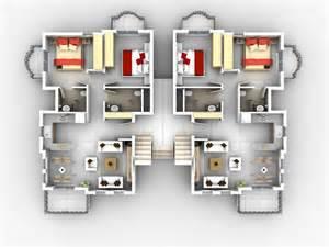 house plans with apartment foundation dezin decor 3d home plans