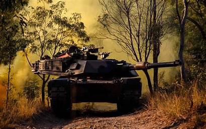 Tank Abrams 4k Forest Australia American Army
