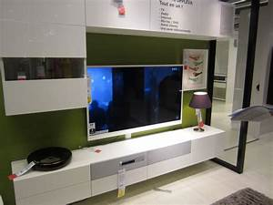 meuble ikea tv suspendu uppleva salon pinterest salons With meuble tv suspendu