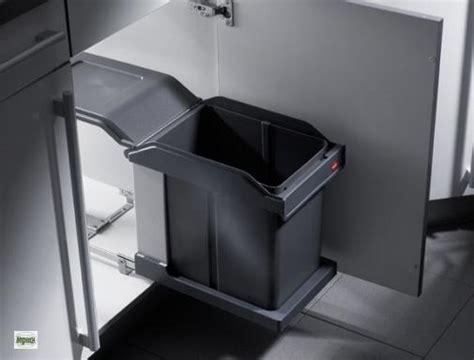 Hailo Solo Vollauszug-automatik Küchen Abfalleimer 1x 20l