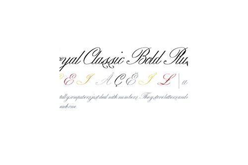 baixar royal classic fonts free