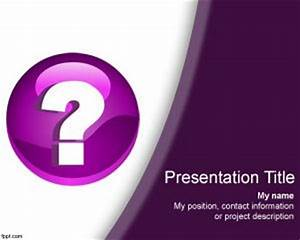 Free question mark powerpoint template for Question and answer powerpoint template