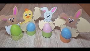 Ostern Basteln Mit Kindern : basteln f r ostern eierbecher mit h schen youtube ~ Buech-reservation.com Haus und Dekorationen