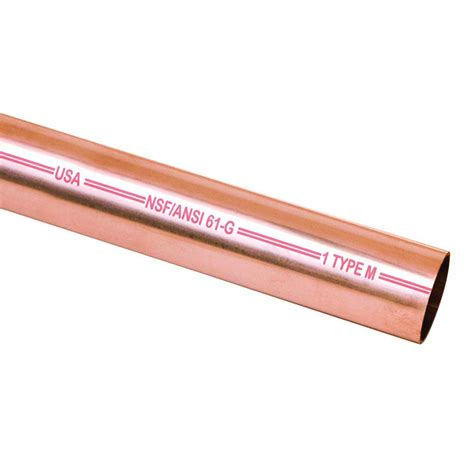 Mueller Streamline 34 In X 60 In Copper Type M Pipe
