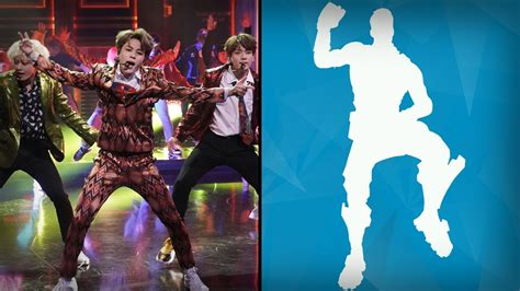 bts performs fortnite dance challenge   tonight show