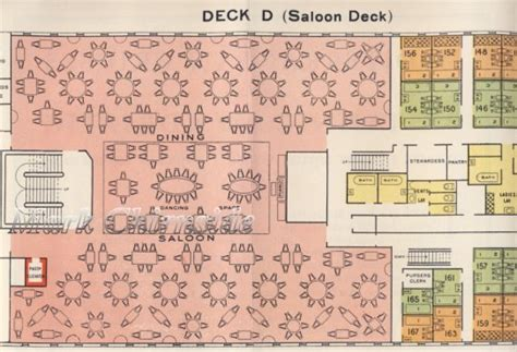 titanic deck plans with room numbers chirnside s reception room olympic titanic