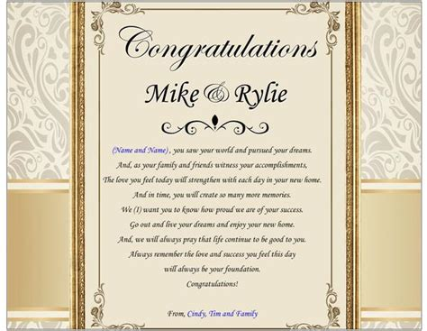 traditional housewarming gift poem plaque  house home present