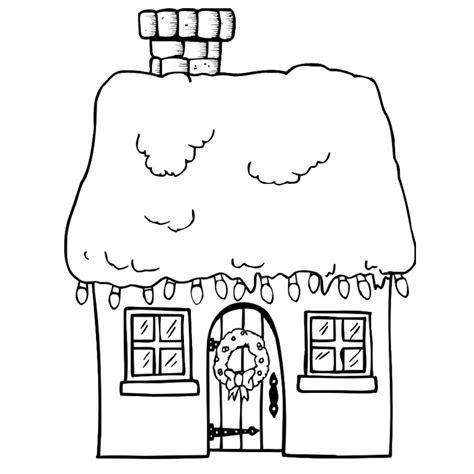 dessin maison a imprimer coloriage maison des 7 nains