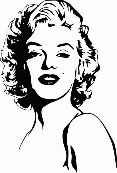 Monroe Marilyn Clipart Portrait