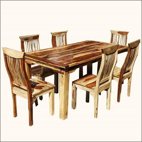 High Quality Solid Wood Dining Sets #4 Solid Wood Dining