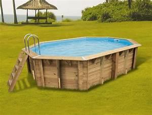 Liner Pour Piscine Hors Sol : piscine hors sol bois bahia first x 5 50 m h ~ Premium-room.com Idées de Décoration