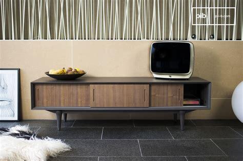 mueble tv tumma fjord madera diseno de los  pib