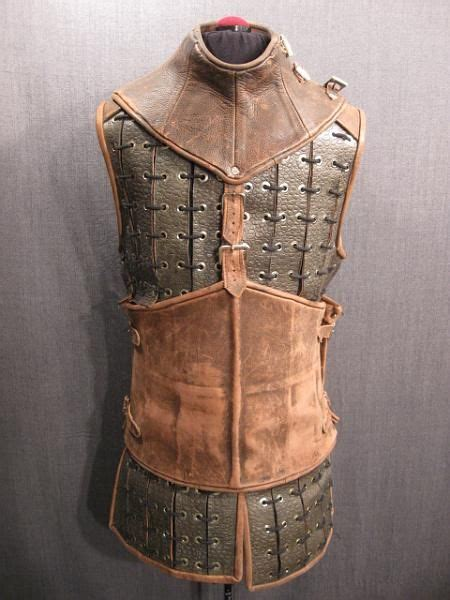 pin  carmen gillespie  cool armor leather armor