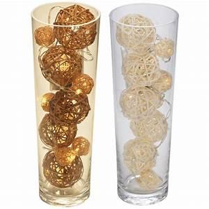 Wohnzimmertür Mit Glas : wohnzimmer dekoration glas vase mit 10x led weidenkugel weidenball dekokugeln ebay ~ Watch28wear.com Haus und Dekorationen