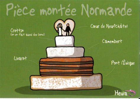 carte postale heula pièce montée normande