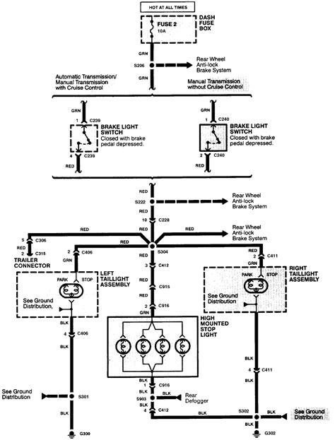 Wiring Diagram For Isuzu Dmax by Need A Wiring Diagram Form The Light Assembly 1994