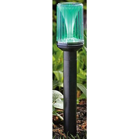 2 gama 174 sonic solar lights blue 187616 solar outdoor