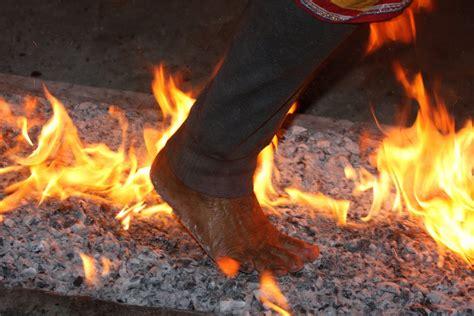 firewalking fire walk bucket coal burning ritual dawn track tribal robbins walked file