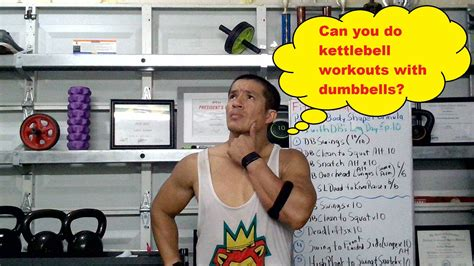 kettlebell dumbbells workouts move learn every