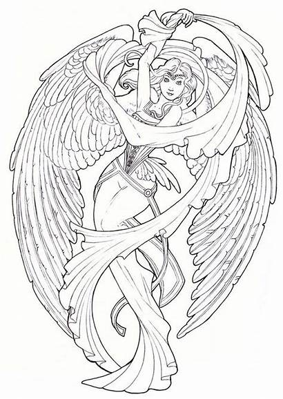 Angels Drawing Angel Guardian Drawings Deviantart Colour