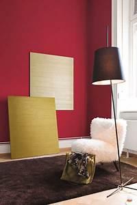 Wand Metallic Effekt : metallic wandfarbe silber gold und mokka alpina ~ Michelbontemps.com Haus und Dekorationen