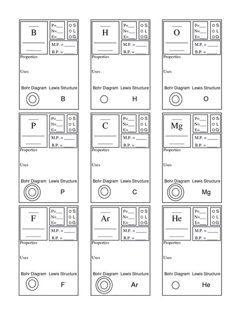 16 Best Images Of Worksheets Periodic Table Activity