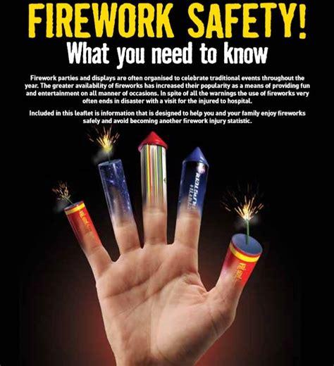 firework safety advice leaflet  nifrs