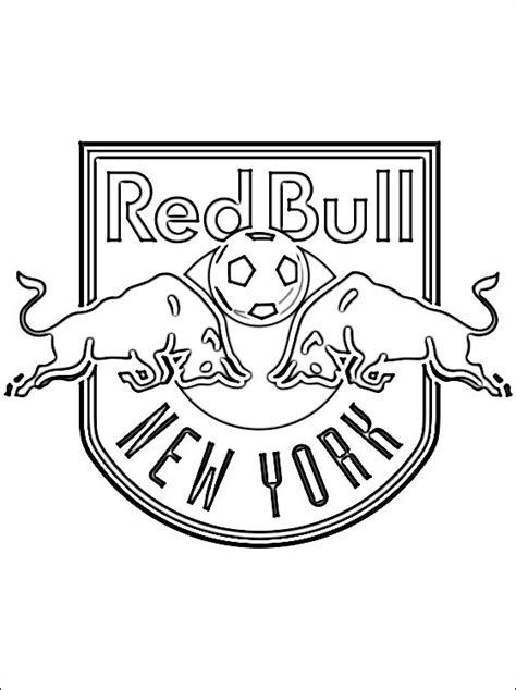 Kleurplaat Nyc by Le Logo De Bulls De New York Coloriage 224 Imprimer