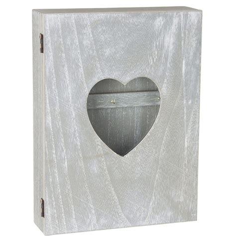 boite armoire 224 cl 233 s murale coeur avec vitre design coeur